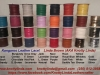 Kangaroo Leather Lace Colour Chart, Jan 2016