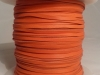 Orange Kangaroo Leather Lace