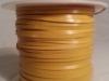 Glossy Yellow Kangaroo Leather Lace