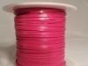 Hot Pink Kangaroo Leather Lace
